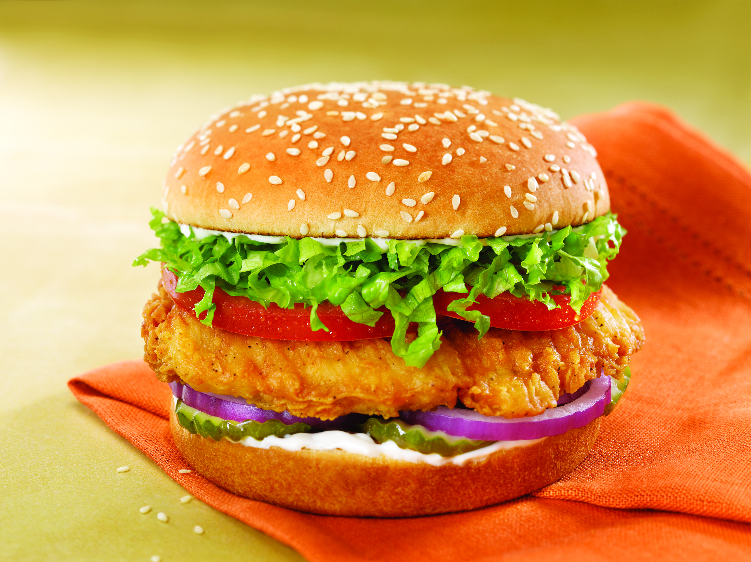 images of chicken burgers -#main